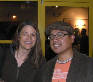 Geneva Anderson and H.P. Mendoza at PFA, Berkeley