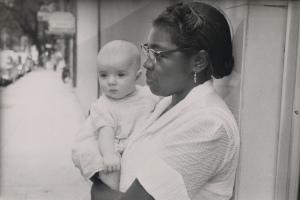 Robert Frank, Charleston, South Carolina, 1955; gelatin silver print; 16 1/4 x 23 1/4 in.; Collection of Susan and Peter MacGill; © Robert Frank