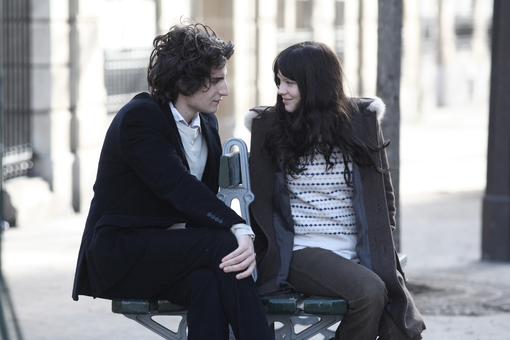 "Louis Garrel and Lea Seydoux in Christophe Honore's ""La Belle Personne"""