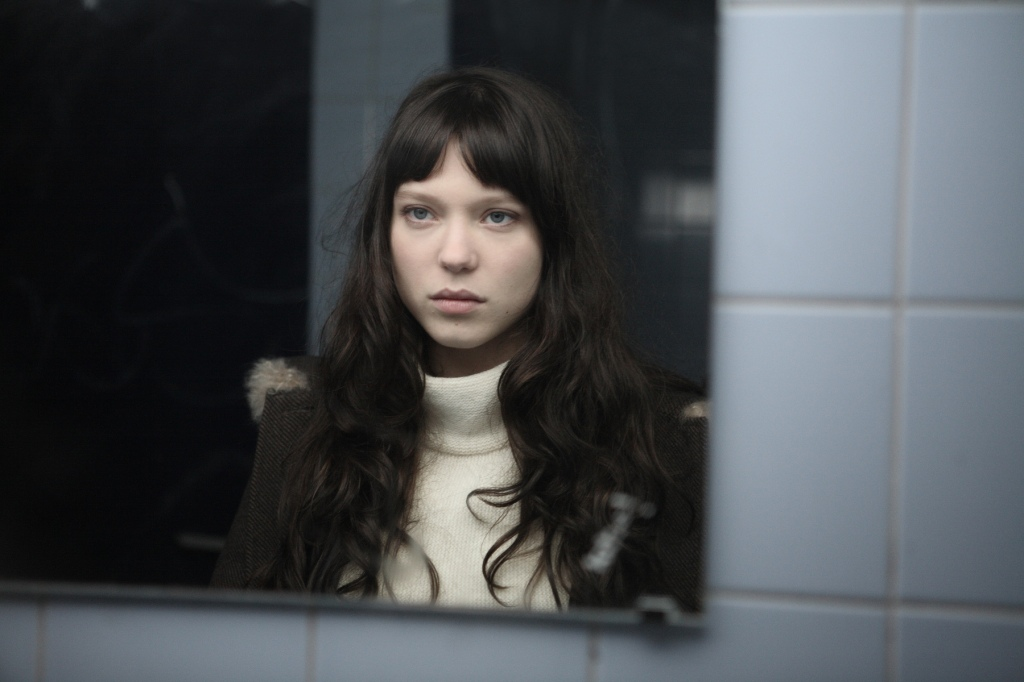 "Lea Seydoux as ""Junie,"" the new girl in class in ""La Belle Personne"""