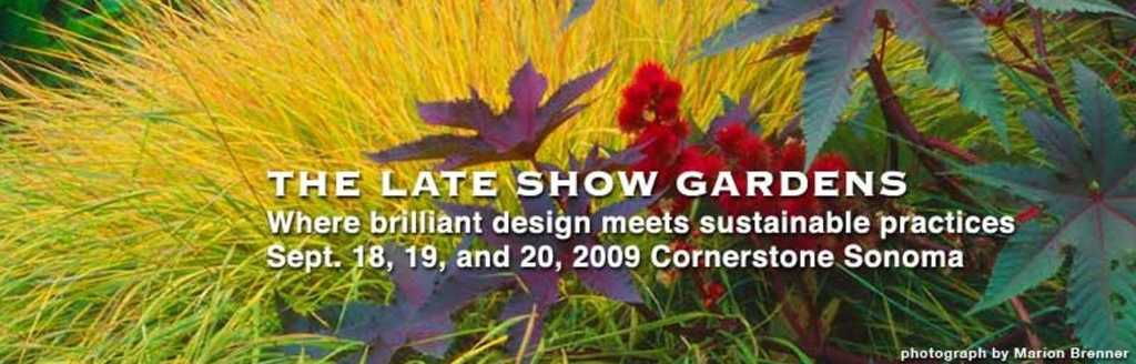 The Late Show Gardens Announcement banner
