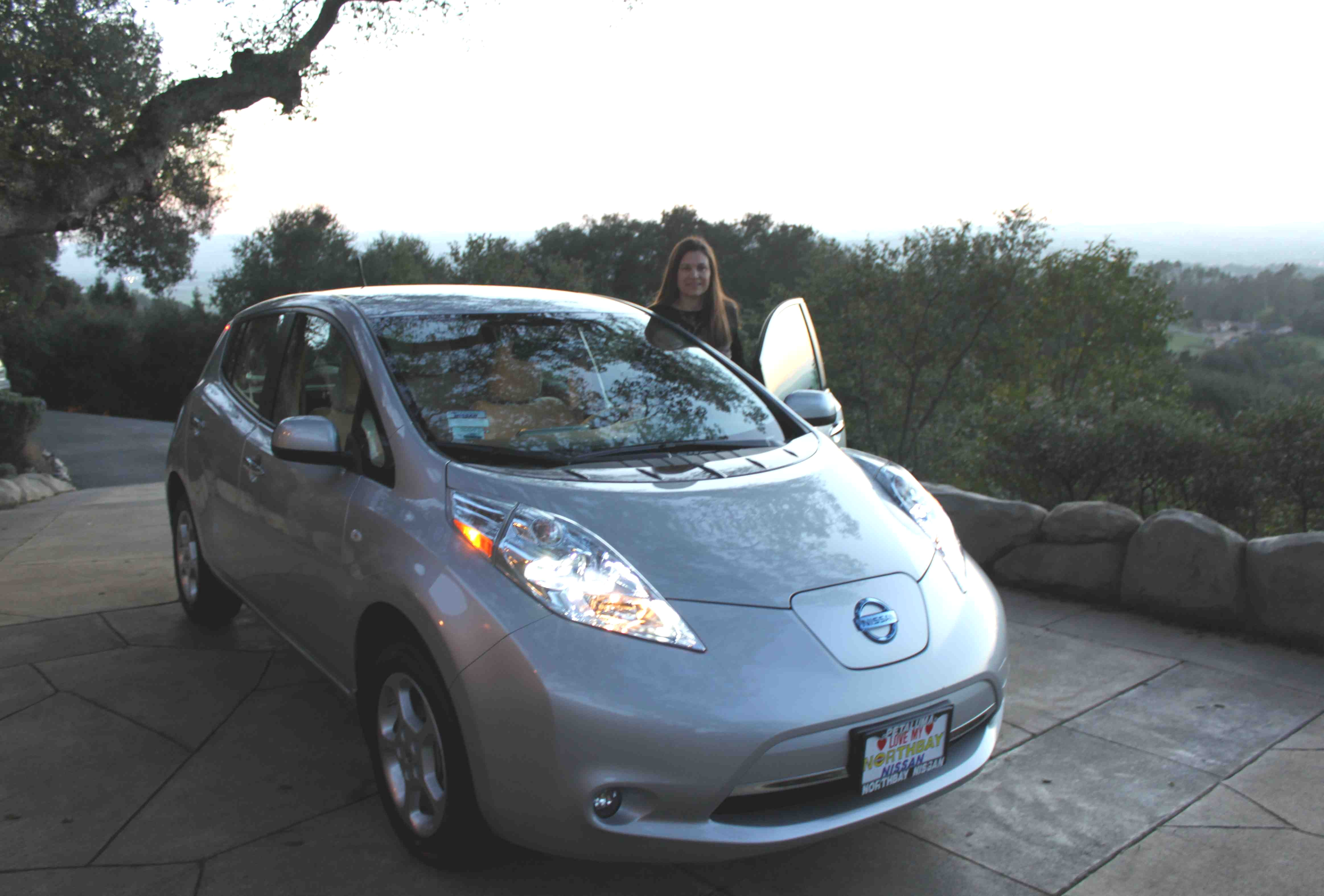 electric watch silent the with nissan ride leaf car