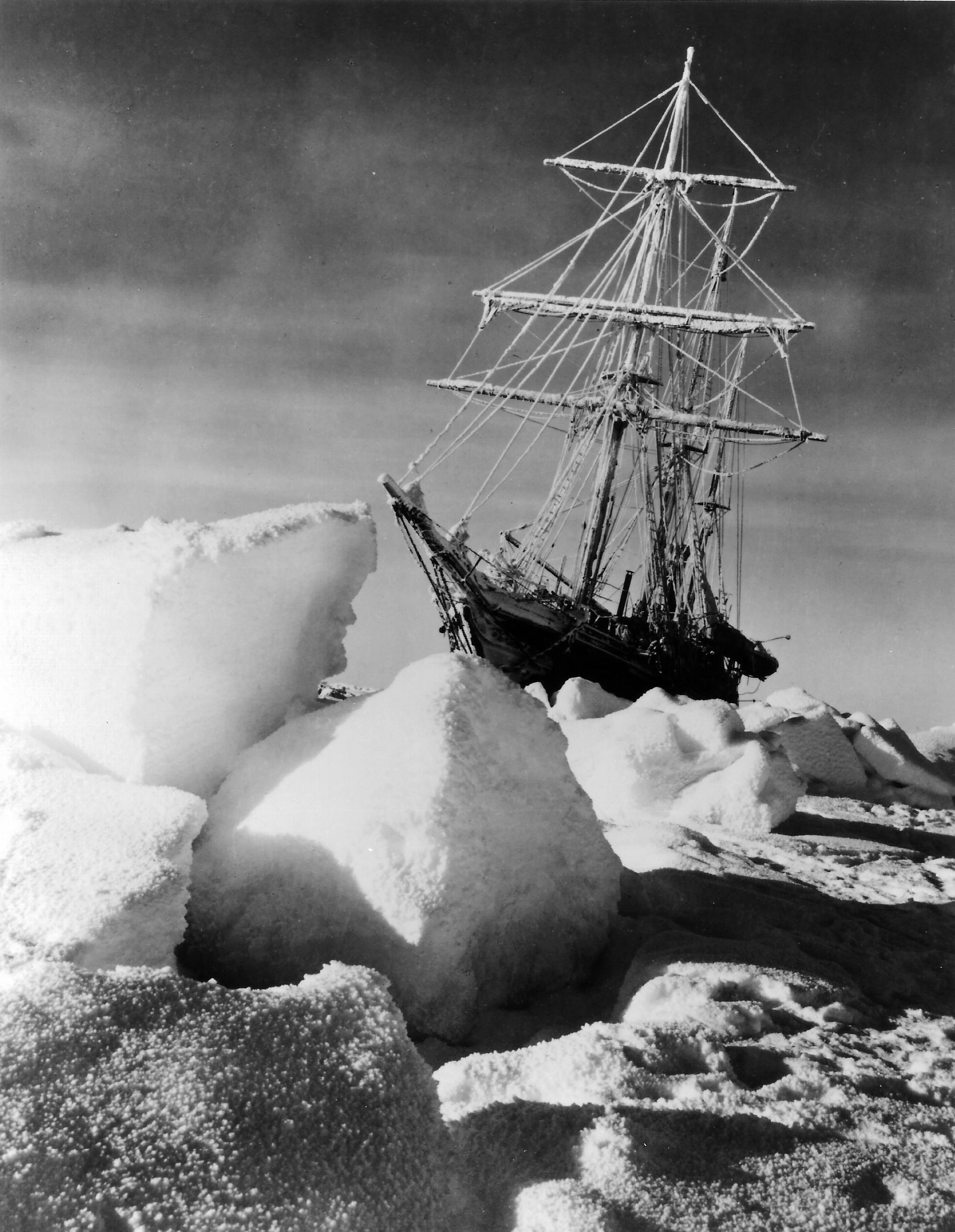 shackletons lost ship endurance - 746×1007