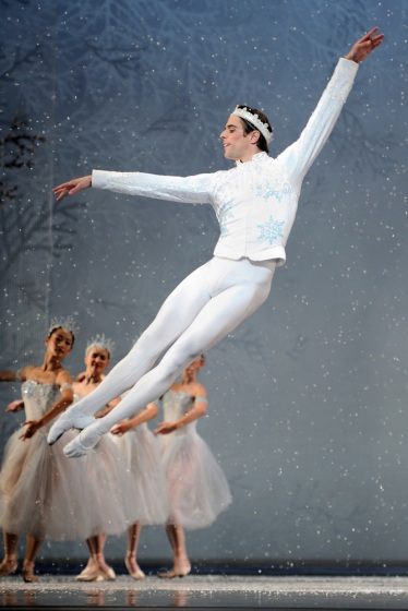 "San Francisco Ballet's Luke Ingham in Tomasson's ""Nutcracker.""  Photo: © Erik Tomasson)"
