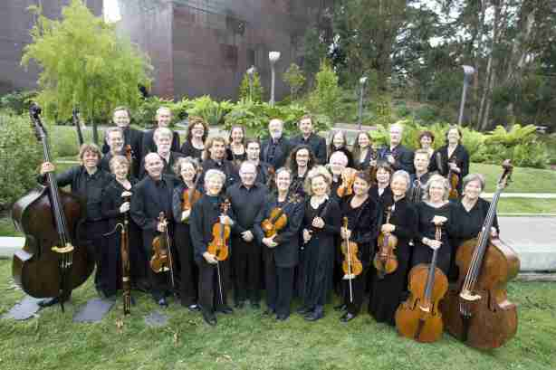 "San Francisco's Philharmonia Baroque Orchestra (PBO) will perform January 15, 2013, at the Napa Valley Opera House as part of their ""Four Seasons Tour.""  Image: Randi Beach"