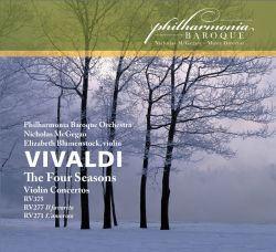 "Vivaldi: ""The Four Seasons"" (2011) is 1 of 5 cd's in PBO's own recording label."