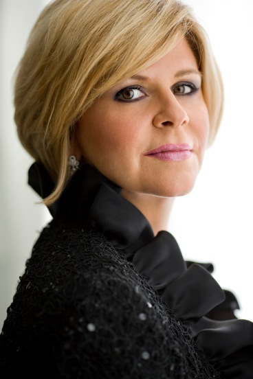 Mezzo Soprano Susan Graham will perform a selection of French art songs in duo recital with Renée Fleming on January 16, 2013 at Davies symphony Hall.  Part of a month long tour with Fleming, this is Graham's only Bay Area performance in the 2012-13 season.  Photo: @Dario Acosta