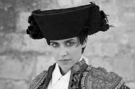 "Macarena García is Carmen or ""Blancanieves"" in Spanish director Pablo Berger's ""Blancanieves,"" a black and white silent film which situates the Snow White story in 1920's Spain and has Snow White fighting bulls.  Spain's official 2013 Academy Award entry."