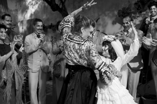 "Carmen (Sofía Oria) right is brought up by her flamenco dancer grandmother (Ángela Molina) in Pablo Berger's ""Blancanieves"" (2011)."