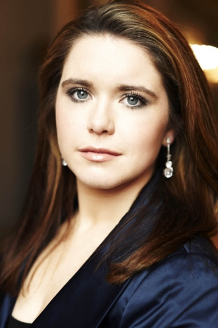 "Her career was launched with an unexpected debut, replacing an ailing colleague and scoring great acclaim as Romeo in Bellini's ""I Capuleti e i Montecchi"" at Bavarian State Opera. The rest is history.  26-year-old Irish-born mezzo-soprano Tara Erraught has elated critics and audiences ever since.  Today's recital at Weill Hall included songs by Dvořák, Respighi, Brahms, Wolf, Handel and Rossini.  She was last in this season's fabulous opera line-up, part of the Jan Shrem and Maria Manetti Shrem Vocal Arts Series, which included eight soloists."