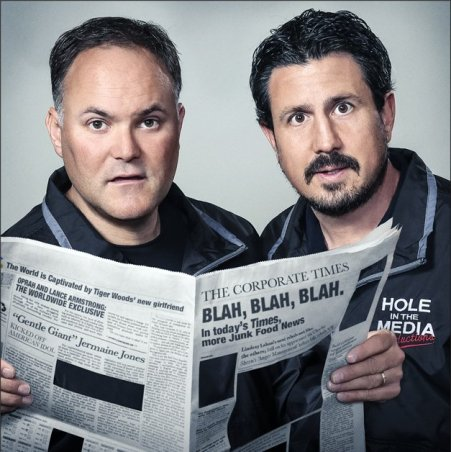 """Sonoma County real estate professionals Doug Hecker (left) and Chris Oscar spent six years making the documentary """"Project Censored: The Movie,"""" which has its world premiere at SIFF."""