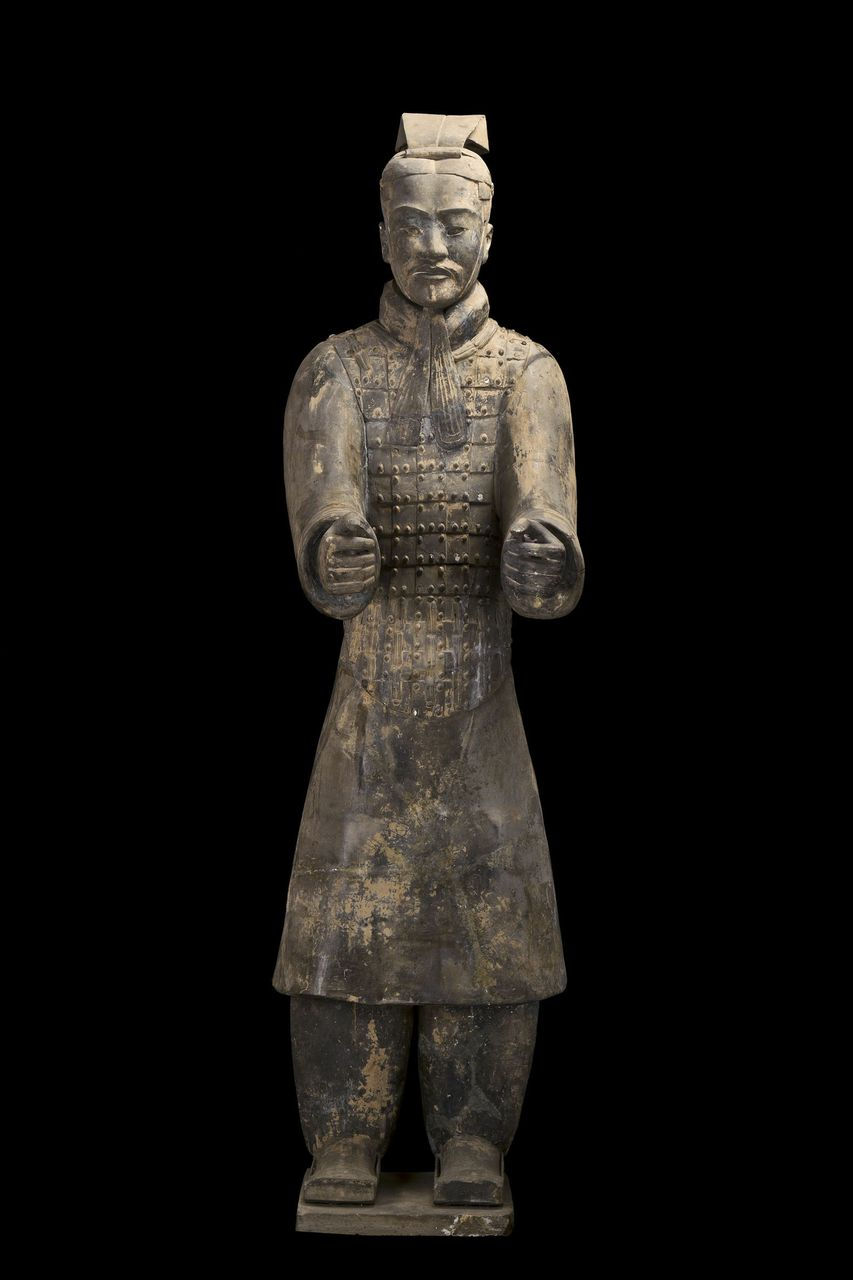 marching on�terra cotta warriors exhibition at san