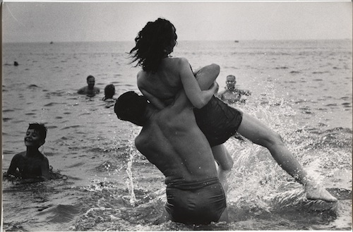 Arguably one of the most prolific photographers of our time, Garry Winogrand's first retrospective in 25 years, is at SFMoMA through June 2, 2013.  Garry Winogrand, Coney Island, New York, ca. 1952; gelatin silver print; collection The Museum of Modern Art, New York, purchase and gift of Barbara Schwartz in memory of Eugene M. Schwartz; © The Estate of Garry Winogrand, courtesy Fraenkel Gallery, San Francisco.