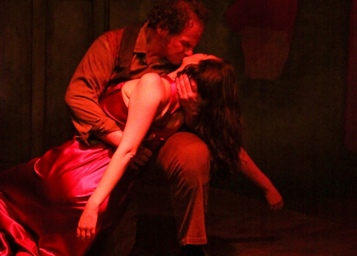 "Cinnabar Theater has added a performance on June 12, 2013 to its sold out run of ""Carmen,"" the classic opera by Georges Bizet. The production features Mark Kratz as Don José and Rebecca Krouner as Carmen. Photo by Eric Chazankin"