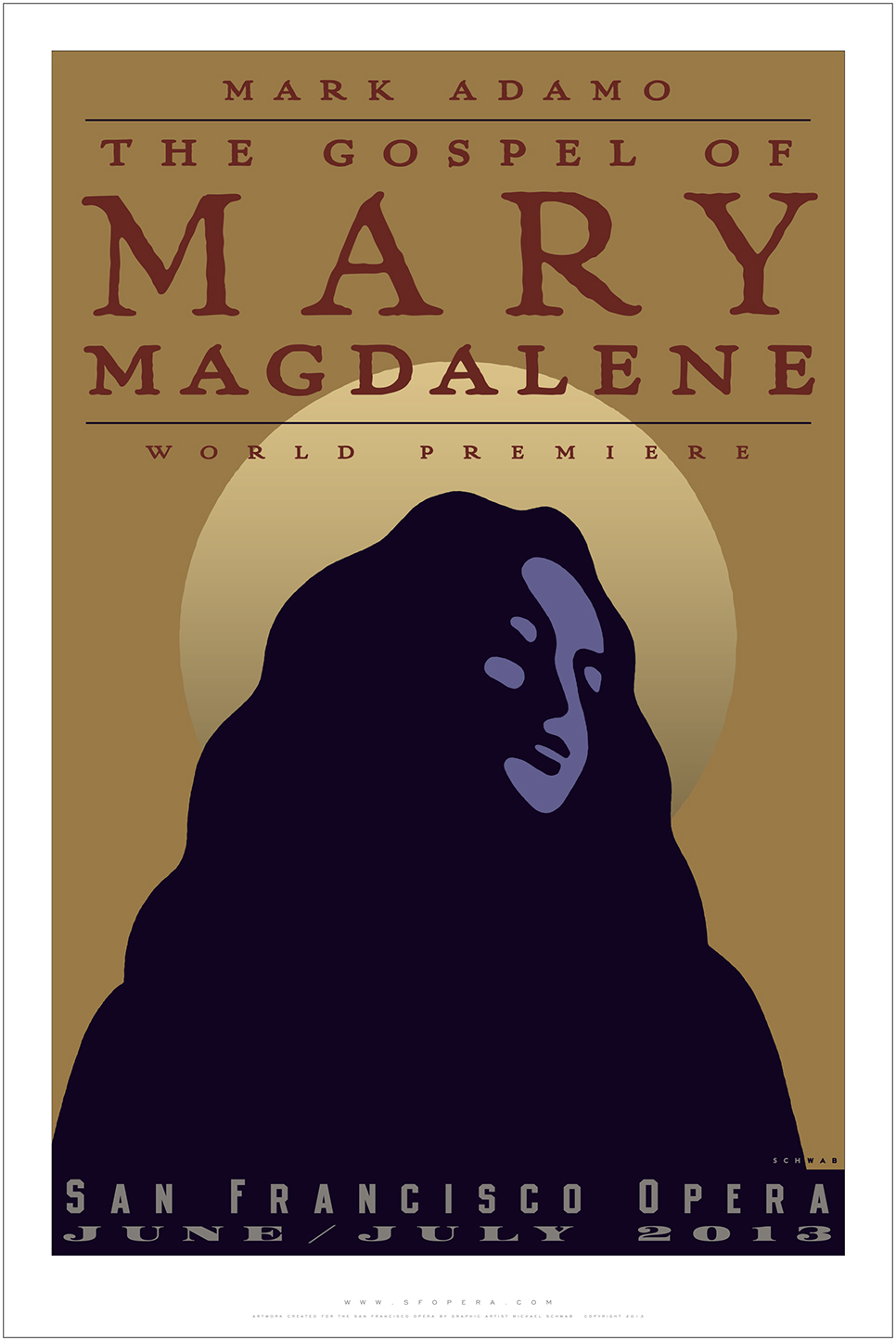 "Marin artist Michael Schwab created a special ""Gospel of Mary ..."