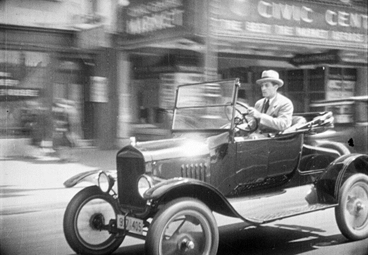"In 2011, the last surviving copy of Emory Johnson's ""The Last Edition"" (1925), whose story is set around the San Francisco Chronicle newspaper, was found in the Netherlands.  The world premiere of the new restoration is Sunday, July 21, 2013 at the San Francisco Silent Film Festival.  Image: courtesy SFSFF."