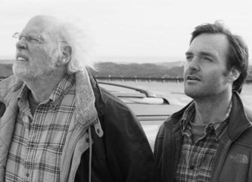 "A scene from Alexander Payne's ""Nebraska"" (2013), one of two films opening the 36th Mill Valley Film Festival, October 3-13, 2013.  Bruce Dern plays a father who receives a sweepstakes letter in the mail and goes on a road trip across America's heartland with his son Macgruber, played by Will Forte, to claim the prize. Photo: Paramount Pictures."