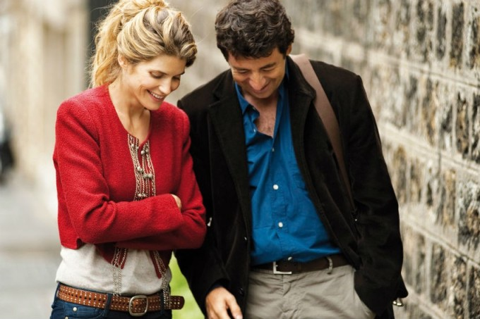 "Alice Taglioni and Patrick Bruel in Sophie Lellouche's romantic comedy ""Paris-Manhattan,"" which opens the 18th Sonoma County Jewish Film Festival on Thursday, October 3 at Sebastopol's Rialto Cinemas.  Photo: courtesy SCJFF"