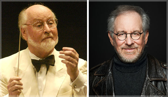 "Composer John Williams and Director Steven Spielberg join San Francisco Symphony for ""Maestros of Music,"" an evening of music and film celebrating Williams and Spielberg's 40 year collaboration on Monday, September 16, 2013."