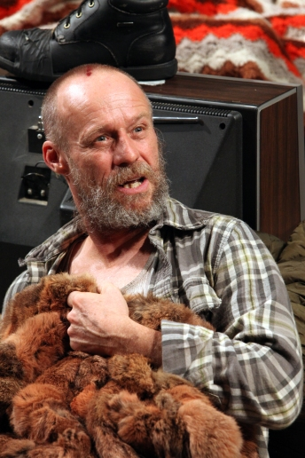 Rod Gnapp as Dodge, the aging, alcoholic, emasculated family patriarch. Sam Shepard's Buried Child is at Magic Theatre through October 13. Photo: Jennifer Reiley