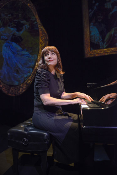 "In ""The Pianist of Willesden Lane,"" acclaimed pianist and storyteller Mona Golabek performs some of the world's most beloved piano music while chronicling her mother's escape from the Holocaust. At Berkeley Repertory Theatre through January 5, 2014.  Photo courtesy of mellopix.com"