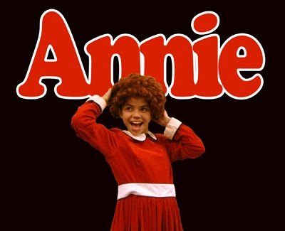 "Laura Sandoval, 13, is one of two local actors playing the adorable orphan, Annie, in Cinnabar Theater's Young Rep production of the family musical ""Annie,"" on stage through December 15, 2013.  Image: courtesy Cinnabar Theater."
