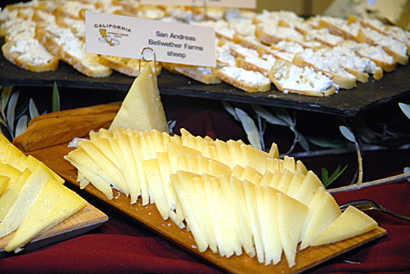 "More than 20 participating cheesemakers will offer samples of their products at Friday's popular ""Meet the Cheesemakers Reception,"" an informal walk-around reception that kicks off the weekend of cheese.  Participants can also sample pairings offered by artisan wineries and breweries and cracker makers.  Photo: courtesy Artisan Cheese Festival"