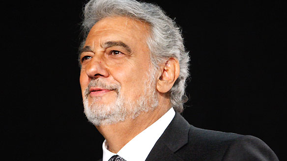 "Plácido Domingo returned  to perform with the SFS for the first time since his debut with the Orchestra more than forty years ago—a 1973 performance of Verdi's Requiem with then-Music Director Edo de Waart.   From the moment he stepped on stage to conduct Strauss' ""Overture to Die Fledermaus,"" Domingo generated a buoyant high that carried Gordon Getty's 80th birthday celebration.  When he sang ""Di Provenza il mar, il suol"" from Verdi's ""La Traviata,"" the audience went wild. The Spanish tenor (who turns 73 on January 21, 2014) has sung 144 operatic roles and is currently the General Director of the Los Angeles Opera.  Photo: IPS"
