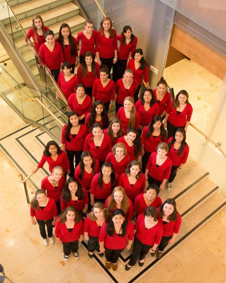 The San Francisco Girls Chorus includes 400 singers from 45 Bay Area cities.  In 2008-2009, the Chorus sang at the swearing in of President Barak Obama and can also be heard of several SFS recordings, including the Grammy winning Mahler Symphony No. 3.  Photo:  SFS