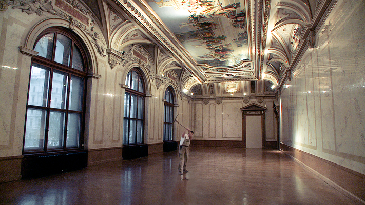 """A scene from Johannes Holzhausen's perceptive documentary, """"The Great Museum"""" (2014), which peers into Vienna's famed Kunsthistorisches Museum in the midst of an ambitious remodeling and reinstallation.  Photo: courtesy Navigator Film"""