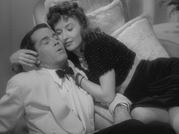 "Henry Fonda and Barbara Stanwyck in Preston Sturges' ""The Lady Eve"" (1941).   Card shark Stanwyck is out to fleece Fonda, the naïve heir to a brewery fortune who is also a snake enthusiast coming home from an Amazon expedition.  Her scheme is quickly abandoned when she falls in love with her prey but is exposed anyway and shunned by Fonda.  Her plan to re-conquer his heart involves assuming a false identity and unabashed flirtation.  No one more convincingly desired a man.  In the famous scene where Fonda adjusts Stanwyck's shirt downward to expose less skin, Thomson, in his book ""Moments that Made the Movies,"" linked this act of restraint with the inelastic film censors of the times, observing that Sturges was a brilliant master of the double entendre.   Photo: courtesy the San Francisco Film Society"