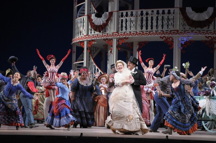 "San Francisco Opera takes the dive into big musical theater with ""Show Boat,"" its summer season opener produced by Francesca Zambello.  Photo  ©Dan Rest/Lyric Opera of Chicago."