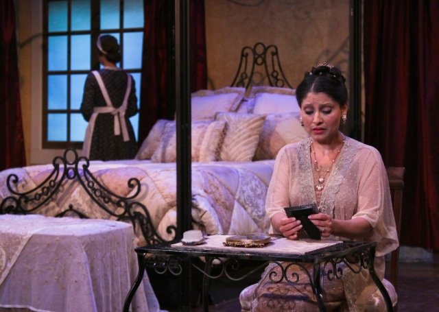 Soprano Bharati Soman has her debut at Cinnabar as the pained Countess Almaviva.  Shes loves her husband, the Count, but knows that he wants to cheat on her with Susanna, her maid, who is engaged to Figaro, the Count's servant.  Photo: Eric Chazankin