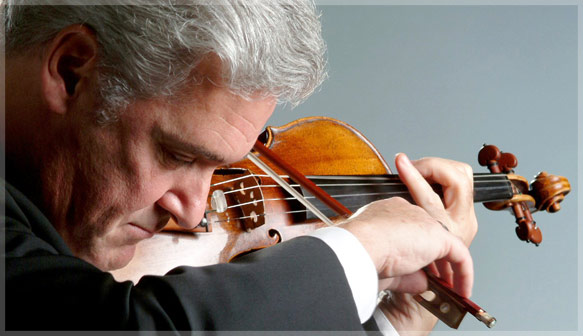 Renowned violinist Pinchas Zukerman will perform the Bruch Violin Concerto at Weill Hall on his prize 1742 Guarneri del Gesù on Tuesday, July 15, 2014 as part of Napa Valley Festival del Sole.  Tenor James Valenti rounds out the evening with arias from French and Italian opera with Alondra de la Parra conducting.  Photo: courtesy Festival del Sole.