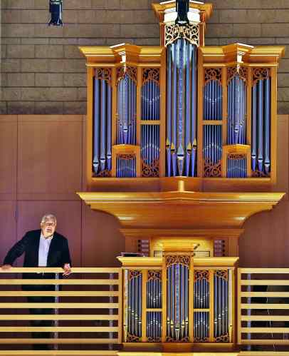 James David Christie and Brombaugh Opus Organ