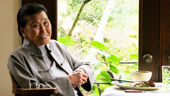 """Pièce de résistance—Director Wayne Wang's new documentary, """"Soul of a Banquet"""" (2014), screens Sunday, October 5 at the 37th Mill Valley Film Festival.    Appearing on stage in conversation are renowned 95-year-old chef Cecilia Chiang , who opened San Francisco's beloved Mandarin restaurant in 1961, and Wayne Wang (""""The Joy Luck Club"""").  The evening will be capped off by a festive party at Sausalito's Cavallo Point.  Structured around an extended interview in Chiang's elegant home, the film tells Chiang's story as well as that of Chinese food in America.  Alice Waters of Chez Panisse and food writer Ruth Reichel reminisce about their friendship and great meals with Chiang.  The film recounts poignant details of her upbringing.  Chiang, the seventh of twelve children, was born into privilege in Shanghai in 1920.  Her mother's feet were bound but it was her wish that her children be college educated.  The second half shifts gears to follow her in meticulous preparation of a feast of family favorites.   The stories, the food, the history, even the jewelry are mouthwatering.  Photo: courtesy Mill Valley Film Festival"""