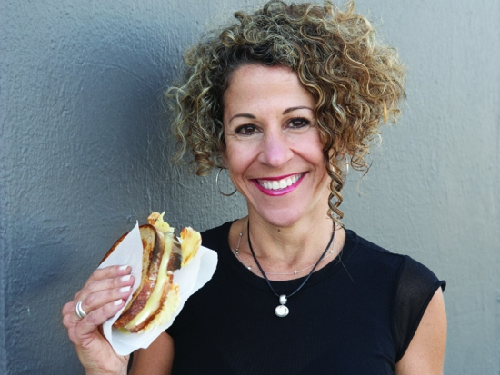 """She's back!  James Beard award-winning author and educator, Laura Werlin, has become a mainstay of California's Artisan Cheese Festival.  Last year, she wowed her seminar attendees with grilled cheese.  This year, she's giving a Saturday morning seminar on pairing cheese and chocolate, with plenty of opportunities to taste.  Werlin will present duos she claims are """"transcendent"""" such as (Portland Oregon-based) DePaula Confections' Belgian Milk Chocolate w/ toasted organic sunflower seeds and Sartori BellaVitano Gold, from Wisconsin, a cheese that Werlin says """"tastes almost sweet but its salt and crunch perfectly match those same qualities in the chocolate.  Image: Laura Werlin"""