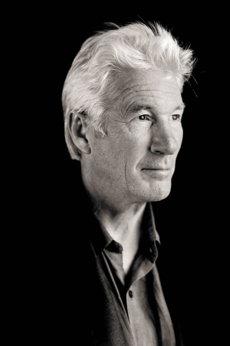 Richard Gere, recipient of the Peter J. Owens Award for excellence in acting at SFIFF 58.  Gere started his career on Broadway before his on-screen breakthrough in 1978 with Oscar-honored Days of Heaven.  His subsequent films include Gary Marshall's Pretty Woman, Paul Schrader's American Gigolo and Taylor Hackford's An Officer and a Gentleman.  He will next appear in Andrew Renzi's Franny, currently getting rave reviews at Sundance, and Oppenheimer Strategies, co-starring Dan Stevens, Michael Sheen, and Steve Buscemi.  Photo: Courtesy of the San Francisco Film Society