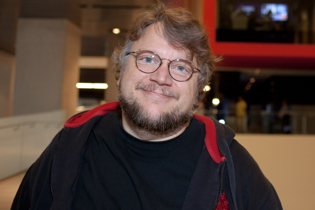 """Guillermo del Toro, recipient of the Irving M. Levin Directing Award at SFIFF 58.  Del Toro burst onto the international scene with Cronos (1993), winner of nine Ariel Awards from the Mexican Academy of Film Arts and Sciences and the Cannes' International Critics Week prize. """"The Devil's Backbone"""" solidified his reputation as a masterful storyteller, while Pan's Labyrinth (2006) opened to worldwide acclaim, winning three Oscars and garnering Academy Award nominations for Best Original Screenplay and Best Foreign Language Film.  He directed Pacific Rim (2013), one of the highest grossing live action films that year.  Audiences await his upcoming gothic thriller Crimson Peak, set to release in October 2015.  Photo: Courtesy of the San Francisco Film Society"""