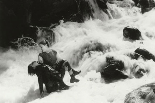"""Jacque Feydor's """"Visages d'enfants"""" (""""Faces of Children""""), a 1921 masterpiece, was filmed on location in the remote Haut-Valais alps region of Switzerland, with spectacular mountain scenery and a thrilling avalanche scene adding atmosphere to the characters' complex emotions. The film is about the effect on a sensitive troubled boy (Jean Forest) of his mother's death and his father's remarriage.  The completely natural emotional intensity of the children, particularly 12 year-old Jean Forest, make this one of the most poignant films of the silent era.  Screens Saturday, May 30, at 2 PM.  Image: SFSFF"""