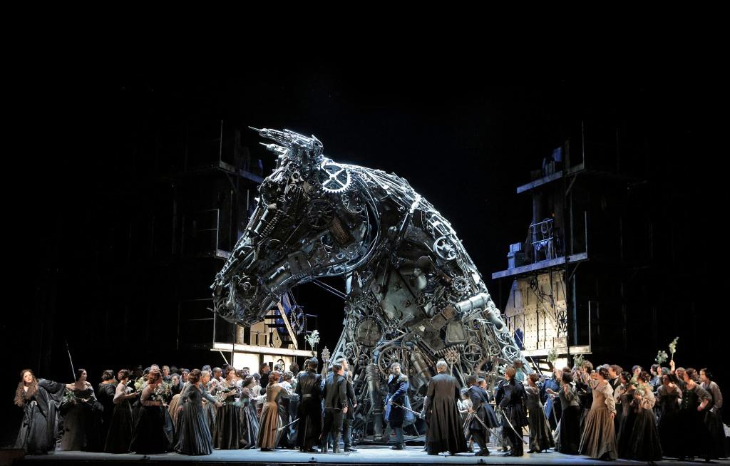 Trojan Horse in a scene from