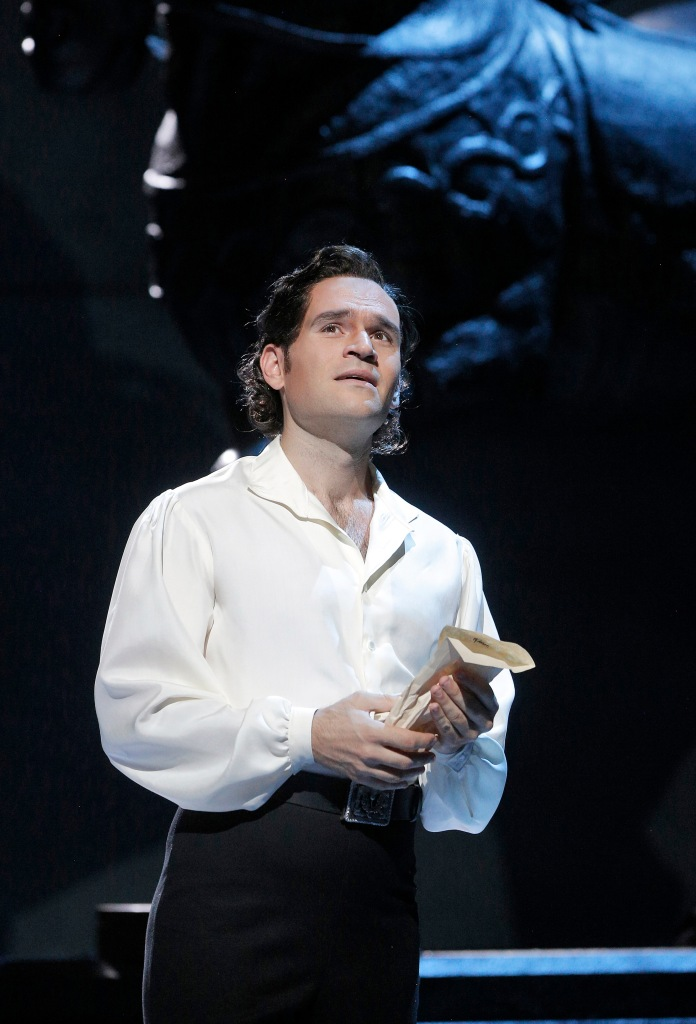 "American tenor Michael Fabiano, recipient of the 2014 Richard Tucker Award and the 2014 Beverly Sills Artist Award, is Rodolfo in San Francisco Opera's ""Luisa Miller."" Photo: Cory Weaver, SFO"