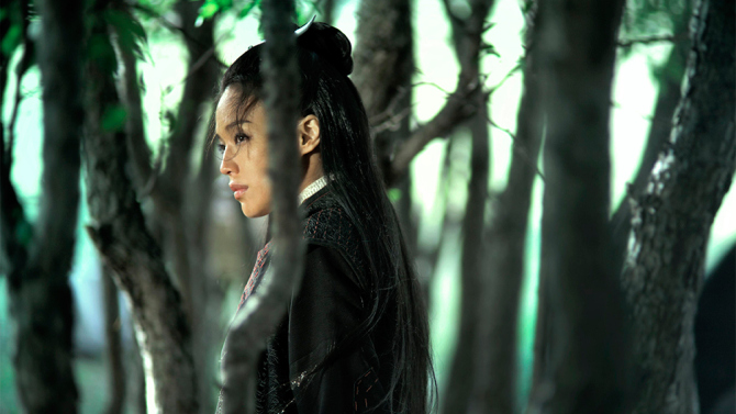 "Seven years in the making, Taiwanese film director, Hou Hsiao-hsien's luxurious wuxia (martial arts) drama, ""The Assassin"" screens twice at the 38th Mill Valley Film Festival. The plot is minimal─a young girl (Taiwanese actress, Shu Qi) is kidnapped and trained to be an assassin. When she is a young adult, she is sent away by her master because she failed to complete a killing. She returns to her hometown and is ordered to kill her first love, her cousin, a powerful military governor. Featuring slow pans of China's stunning mountains, valleys and historic temples, exquisite costumes and artifacts, as well as riveting physical feats, the film is like a lush painting come to life. Hou Hsiao-hsien, a leading figure of Taiwan's New Wave cinema movement, picked up best director award at Cannes this with this drama. Photo: courtesy MVFF"
