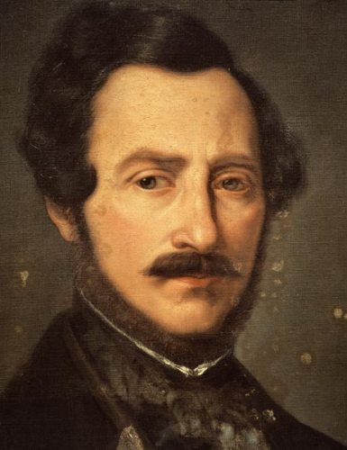 "Gaetano Donizetti's ""Lucia di Lammermoor"" and ""L'elisir d'amore"" (""The Elixir of Love"") are among the 25 most frequently performed operas in the world every year. SFO has performed ""Lucia"" in 23 seasons. A sad irony is that Donizetti, who crafted Lucia's and Anna Bolena's brilliant scenes of psychosis, spent his own final years locked away in a Paris insane asylum. Thirteen years after ""Lucia's"" premiere, he died psychotic and paralyzed from untreated syphilis. His French publisher left a memoir suggesting that Donizetti had been driven insane by an imperious soprano, who had forced him to make damaging changes to his last grand opera. Portrait of Gaetano Donizetti, Italian pictural school (17th century) from Bologna's Civico Museo Bibliografico Musicale."