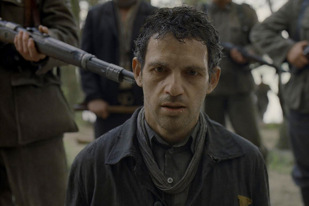Géza Röhrig is Saul Auslander in Laszlo Nemes' holocaust drama,