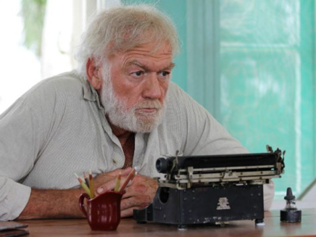 "Adrian Sparks is Hemingway in Bob Yari's ""Papa: Hemingway in Cuba"" (2015), which premiered at the 37th Festival of New Latin American Cinema. The film is set against the turbulent backdrop of the Cuban Revolution, with many scenes shot at Finca Viga, Hemingway's Havana estate, as well at La Floridita, his preferred watering hole. Sparks used Hemingway's actual typewriter in a scene shot at Finca Viga."