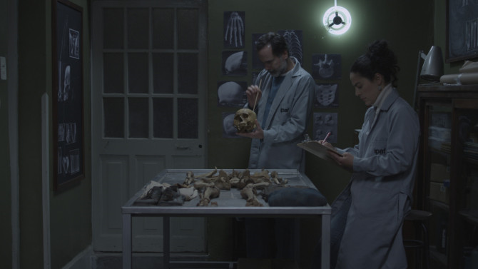 "A scene from Peruvian director Héctor Gálvez's second feature film, ""NN"" (2015), Peru's Foreign Language Oscar nominee, which addresses the ongoing Peruvian struggle to identify the remains of and remember Peru's disappeared persons."
