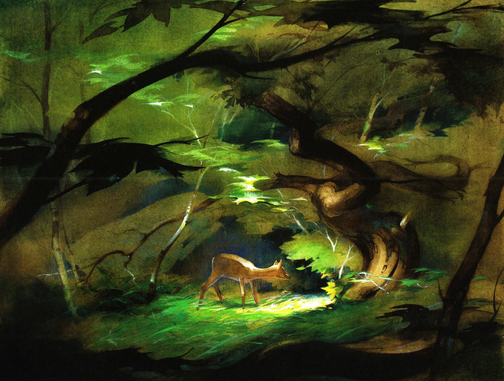 """Tyrus Wong's pastel illustrations inspired the style of Walt Disney's classic, """"Bambi"""" and he served as the lead artist for the cherished film."""