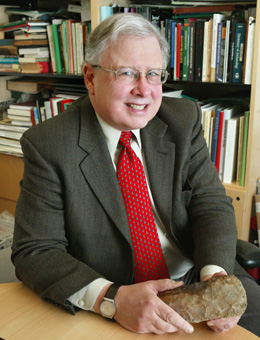 Early in his career, Princeton Archeaologist, Dr. Peter Bogucki based a ground-breaking theory on the development of Western civilization on cheesemaking and ancient chards of pottery he unearthed in Northern Poland. It took thirty years for developments in modern biochemistry to prove him right. Photo: Frank Wojciechowski
