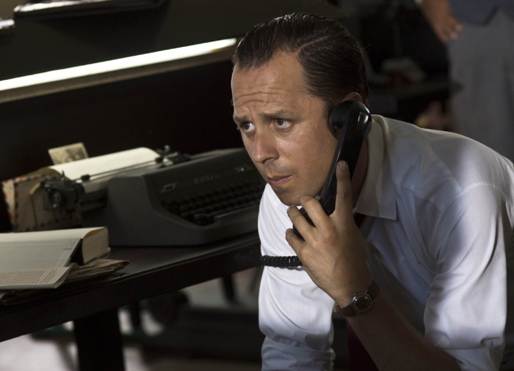 """Giovanni Ribisi plays Miami Herald cub journalist Denne Bart Petitclerc, who finds a father figure in Ernest Hemingway in """"Papa Hemingway in Cuba."""" Petitclerc becomes incensed when he reads a review asserting that the only contribution that Hemingway made to the English language was one short sentence. He writes Hemingway in Havana to tell him that he had been inspired greatly by his writing and the letter leads to a great friendship between Petitclerc and the aging writer. Image: HIFF"""